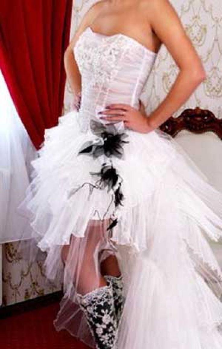 Vokuhila Hochzeitskleid  Die besten 25 Vokuhila hochzeitskleider Ideen auf