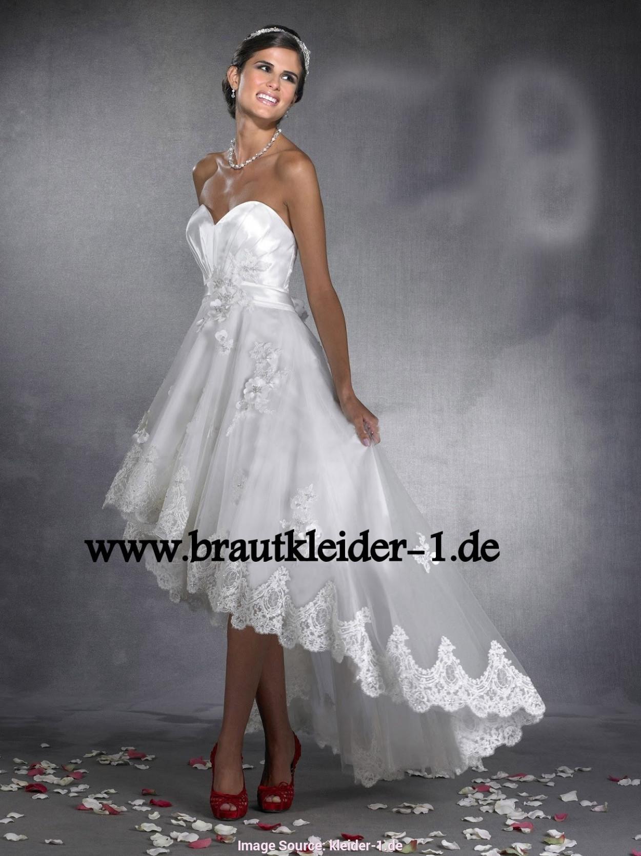 Vokuhila Hochzeitskleid  Schön Vokuhila Hochzeitskleid Ideen Festliche Kleider Ideen
