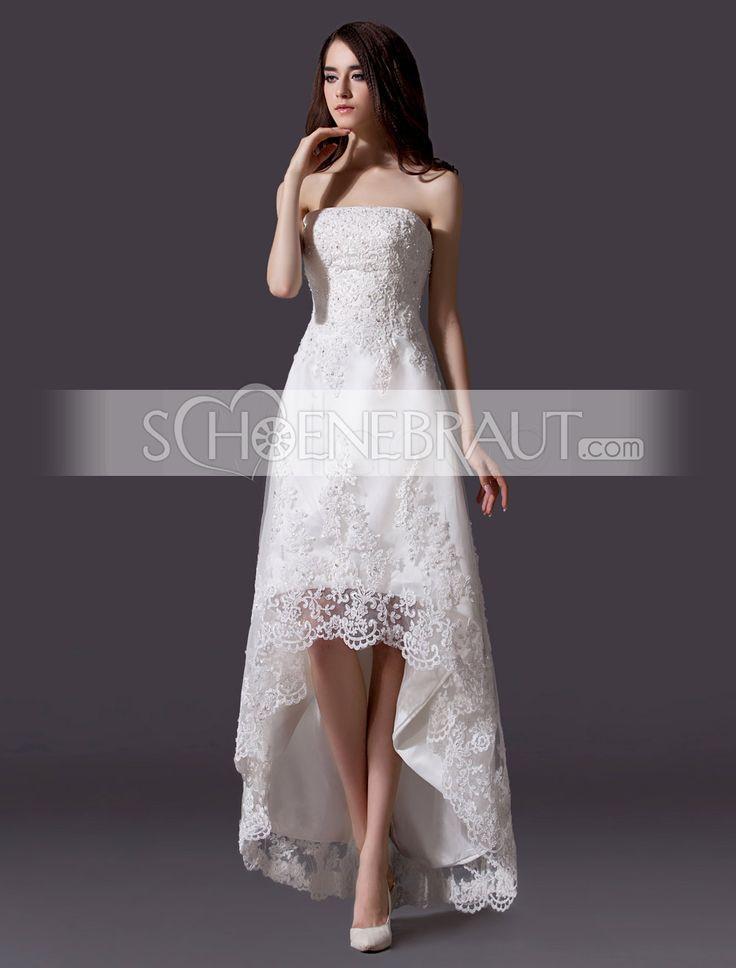 Vokuhila Hochzeitskleid  Die besten 25 Vokuhila brautkleid Ideen auf Pinterest