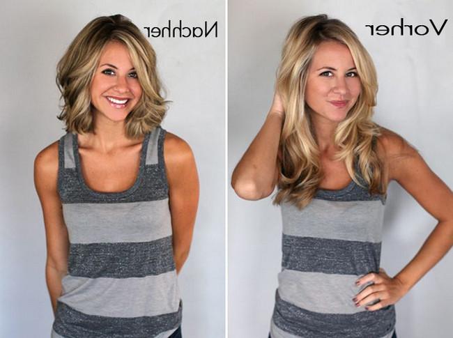 Vorher Nachher Frisuren  Vorher Nachher Frisuren