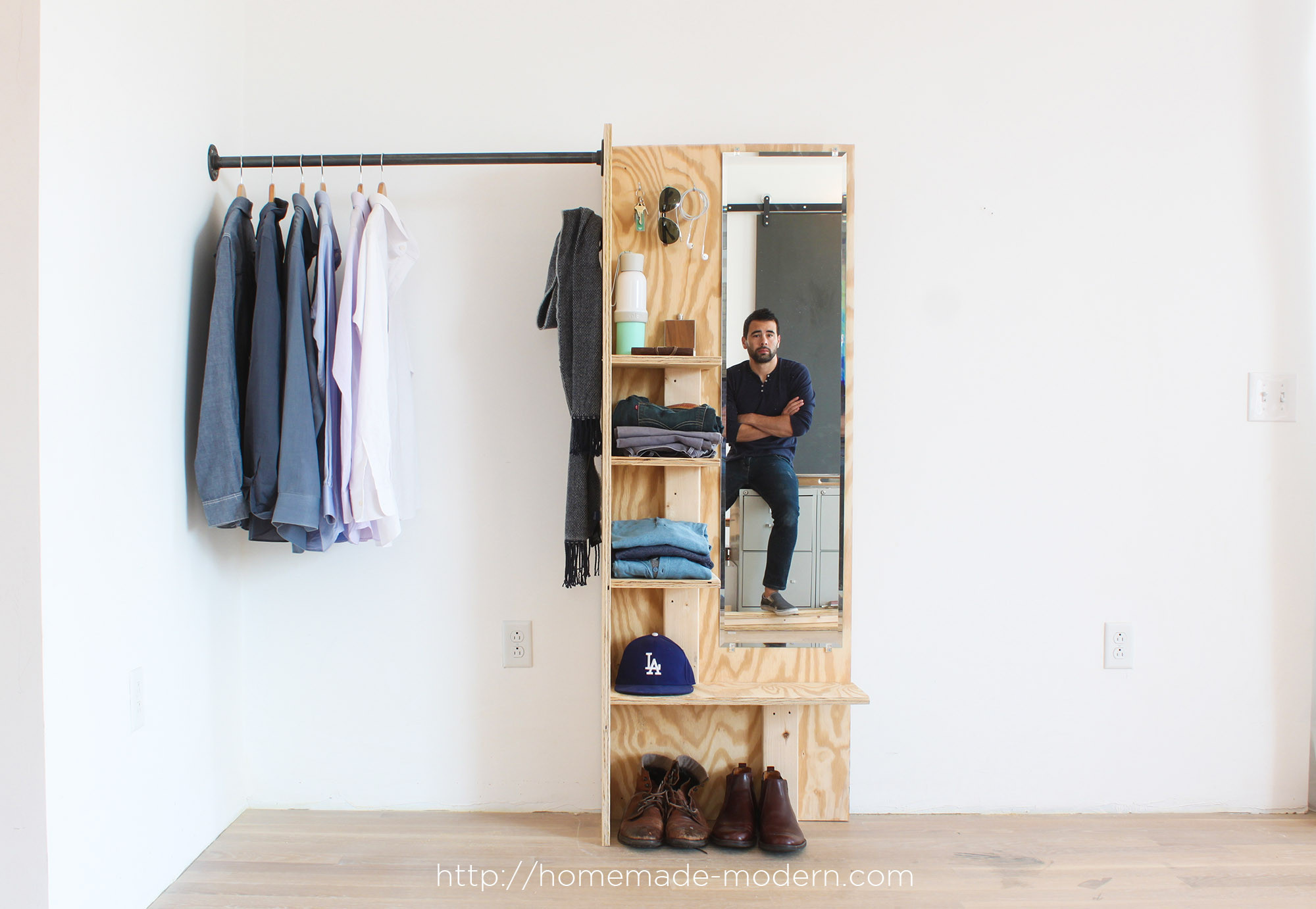 Wardrobe Diy  HomeMade Modern EP98 DIY Closet Organizer