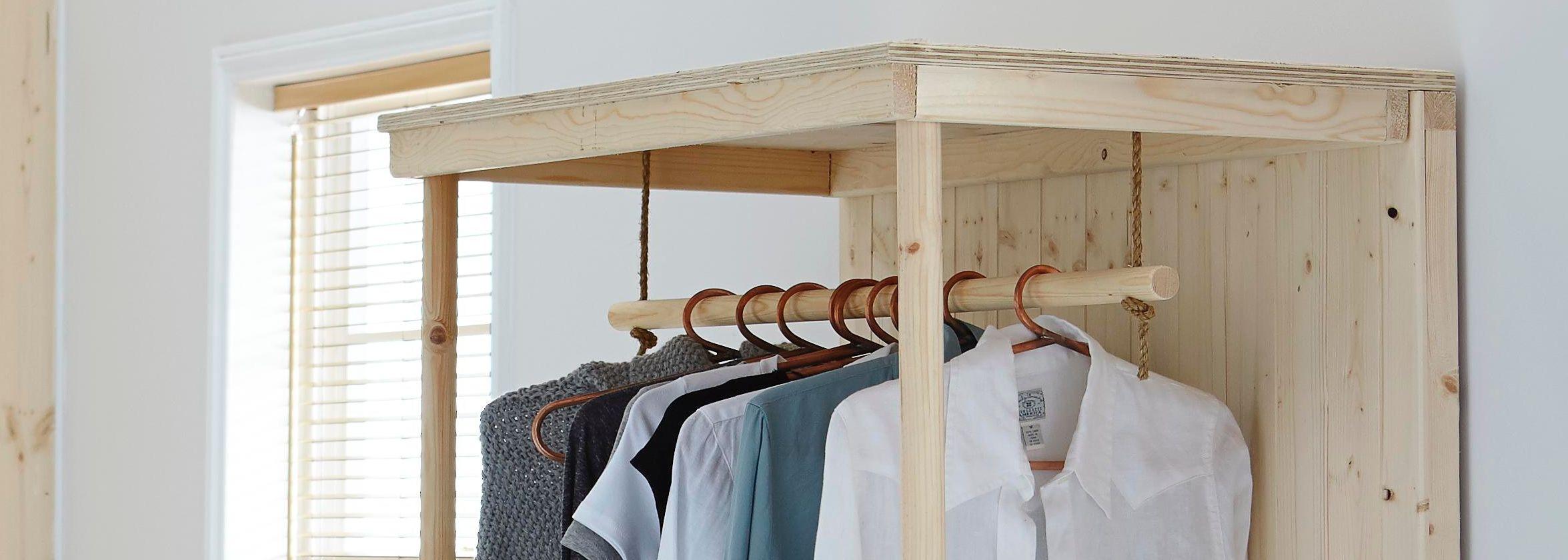 Wardrobe Diy  How to make a wardrobe Help & Ideas