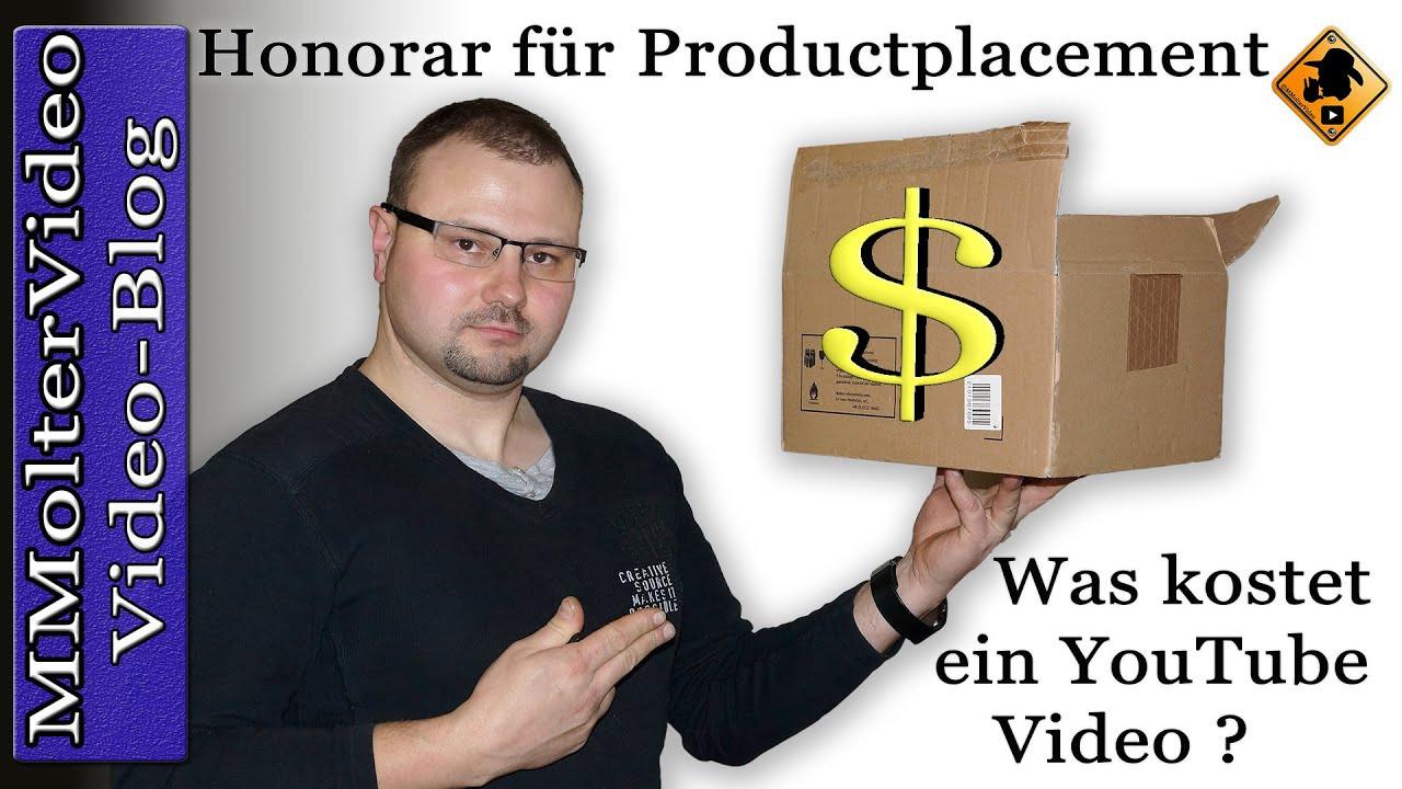Was Kostet Ein Komiker Für Geburtstagsfeier  Honorar für Productplacement Was kostet ein Video