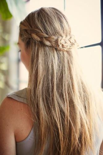 Wasen Frisuren  Hairstyles for Everyday Half Updo Braid Hair Pretty Designs