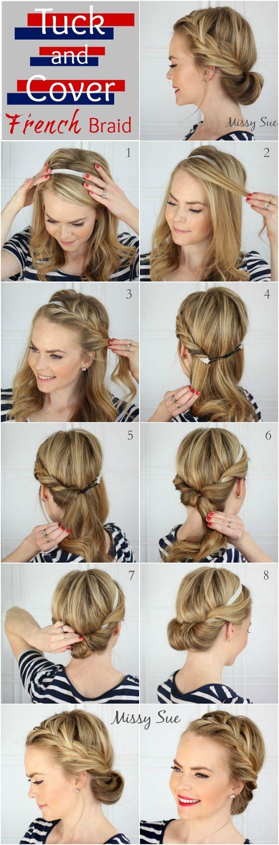 Wasen Frisuren  11 Einfache Schritt für Schritt Hochsteckfrisur Tutorials