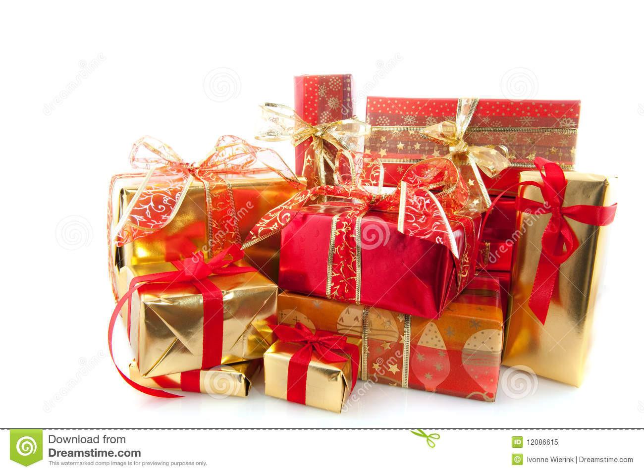 Weihnachts Geschenke  Viele Weihnachtsgeschenke stockbild Bild von dezember