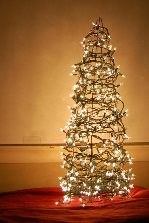 Weihnachtsbaum Diy  Weihnachtsbaum basteln 24 unglaublich kreative DIY Ideen