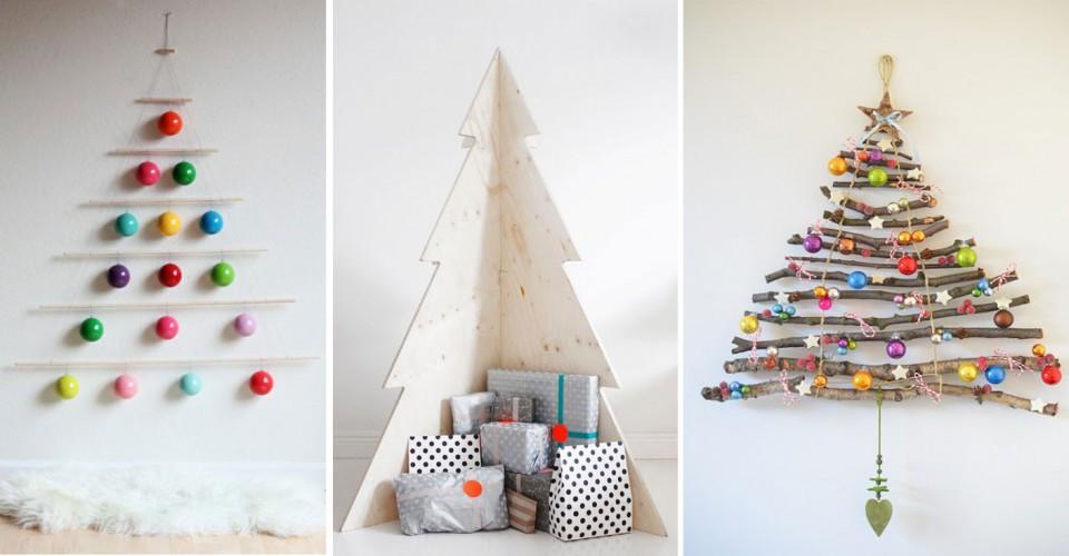 Weihnachtsbaum Diy  Christmas DIY Die schönsten Alternativen zum klassischen