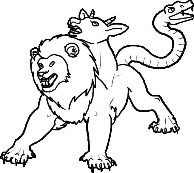 Werwolf Ausmalbilder  Drachen und andere Fabelwesen Bilder Tattoos Geschichten