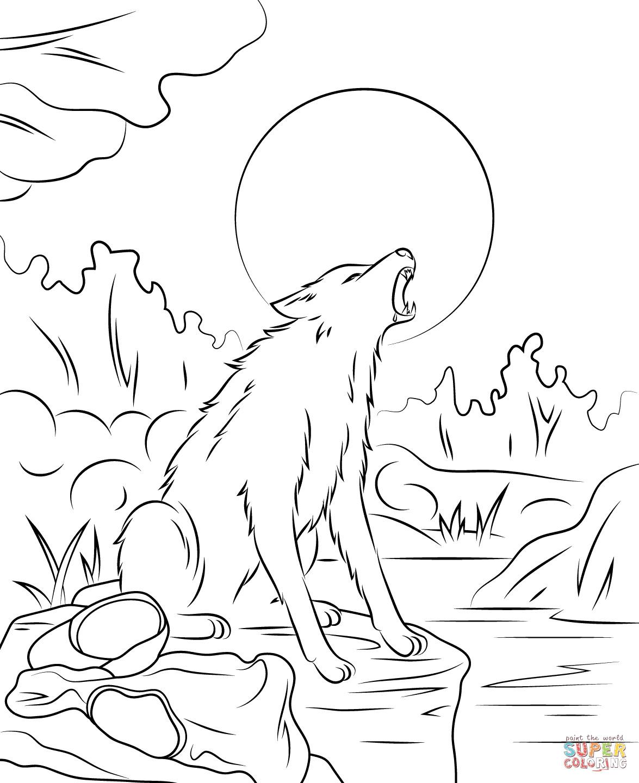 Werwolf Ausmalbilder  Ausmalbild Gänsehaut Der Werwolf