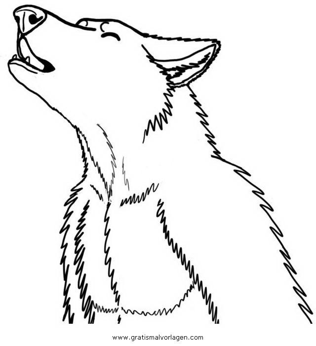 Werwolf Ausmalbilder  werwolf 2 gratis Malvorlage in Fantasie Monster ausmalen