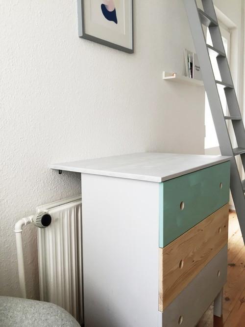Wickeltisch Diy  DIY Wickeltisch IKEA Hack