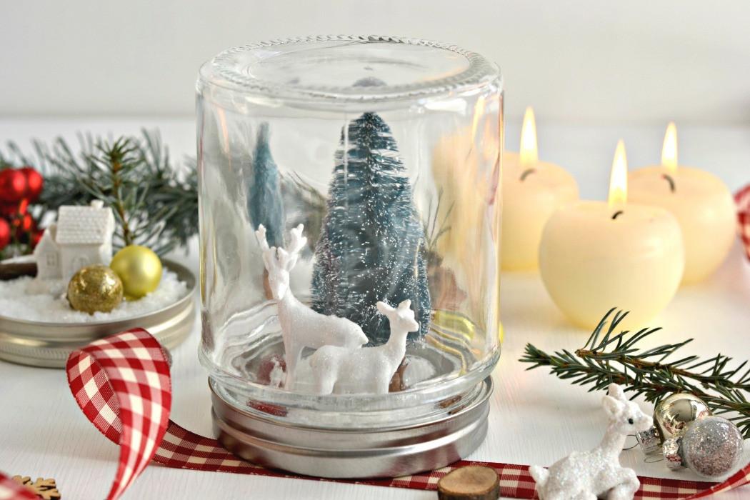 Winter Deko Diy  DIY Euer Winterwonderland im Glas