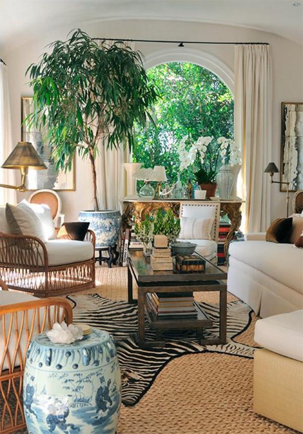 Wohnzimmer Pflanzen  Grünpflanzen bestimmen Ihr Ambiente dekorieren Sie mit