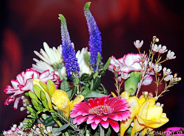 Wunderschöne Geburtstagsbilder  Blumenstrauß Blumenbilder zum Geburtstag Blumenstrauß