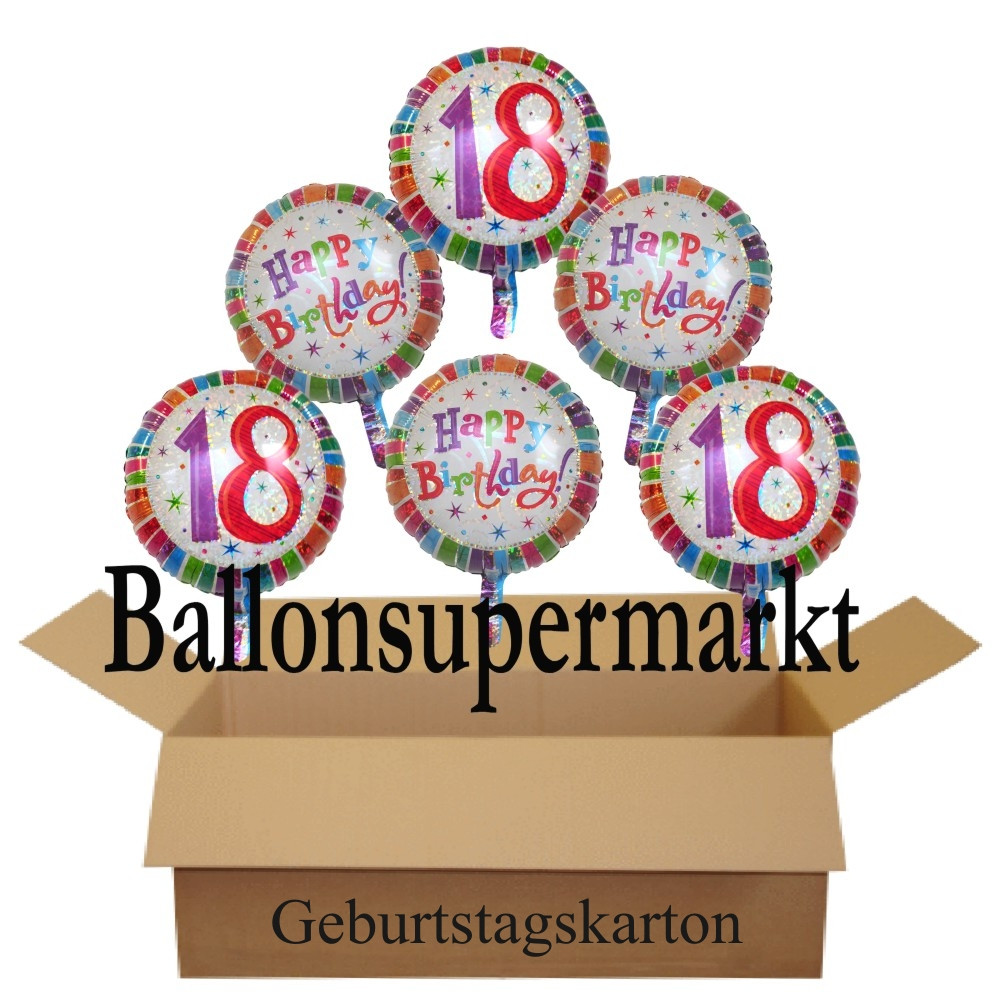 Www.Telekom.De/Geburtstagsgeschenk  Geburtstagsgeschenk Luftballons mit Helium im Karton