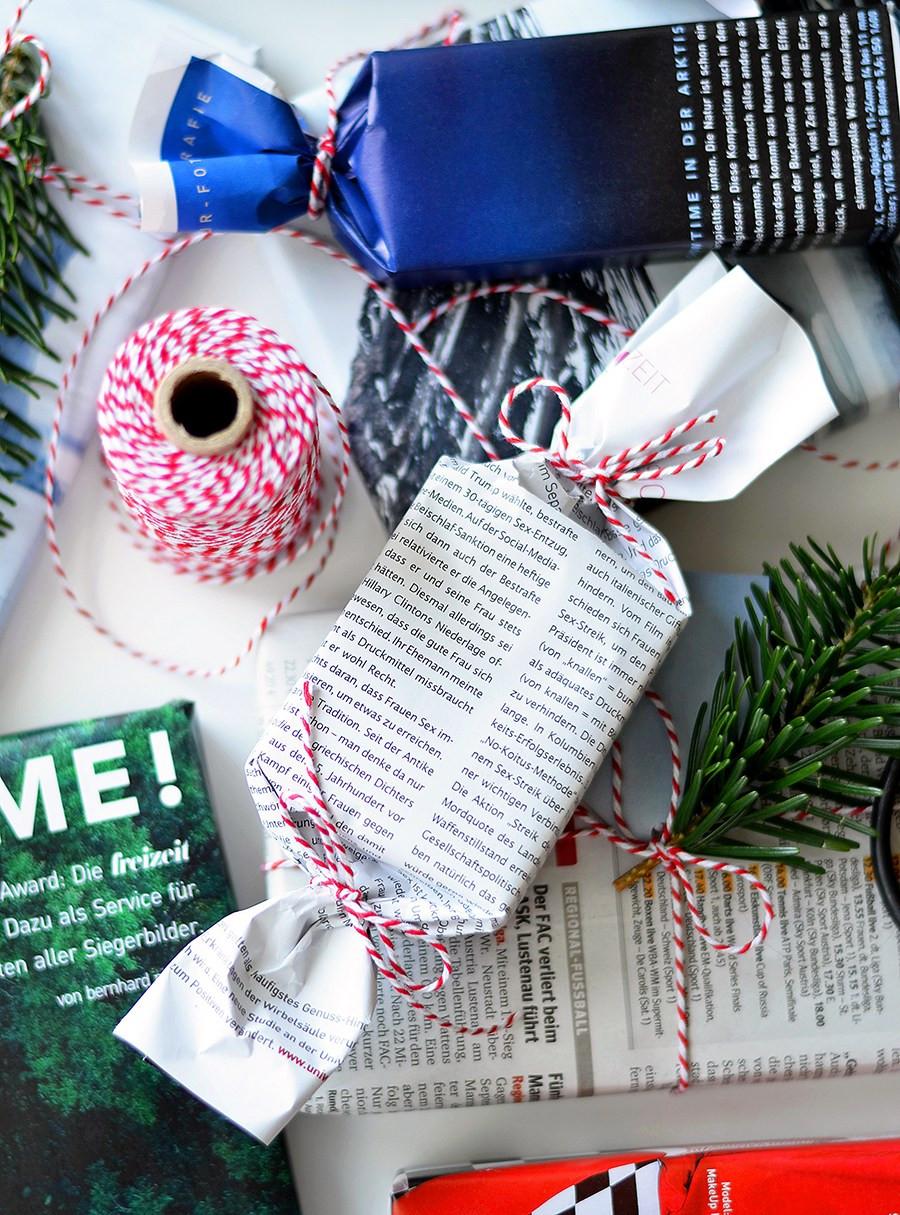 Zero Waste Geschenke  ZERO WASTE Geschenke einpacken X was ich zu Weihnachten