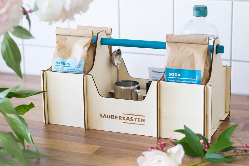 Zero Waste Geschenke  Sauberkasten – Zero Waste Reinigungsmittel selber machen
