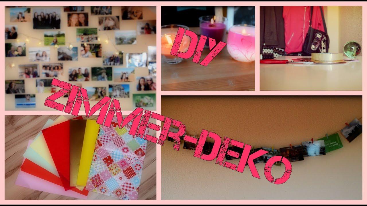Zimmer Diy  DIY Zimmer Deko