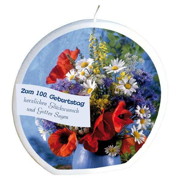 Zitate Zum 100. Geburtstag  Geburtstagskerze zum 100 Geburtstag