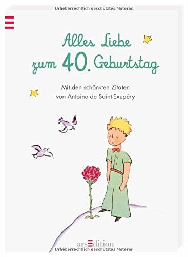 Zitate Zum 40. Geburtstag  Alles Liebe zum 40 Geburtstag Die schoensten Zitate von