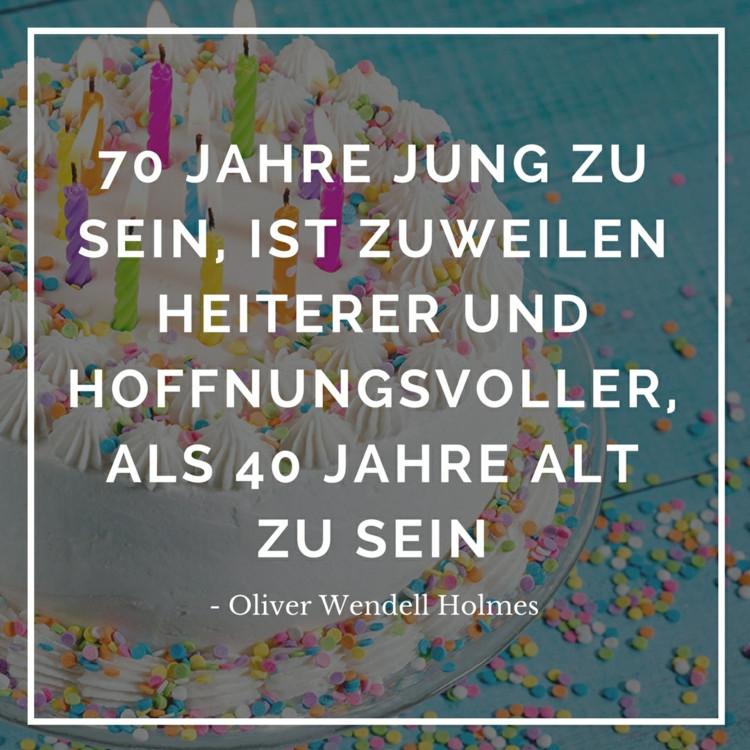 Zitate Zum 70. Geburtstag  Zitate zum Geburtstag für originelle Geburtstagskarten und