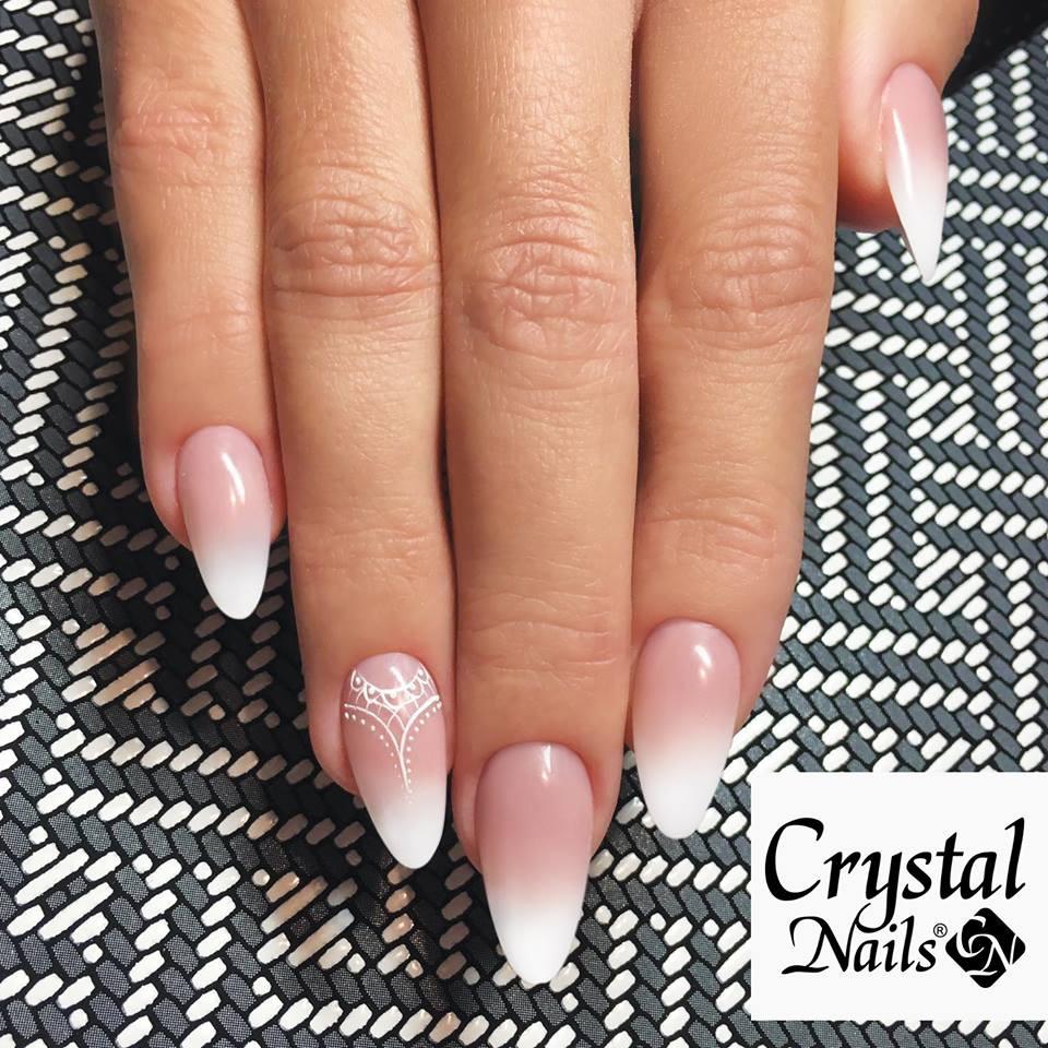 Zubehör Nageldesign  Babyboomer White 15ml – Crystal Nails Austria Nageldesign
