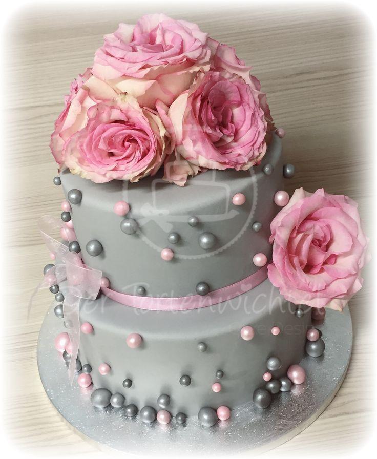 Zweistöckige Hochzeitstorte  Die besten 25 Zweistöckige torte Ideen auf Pinterest