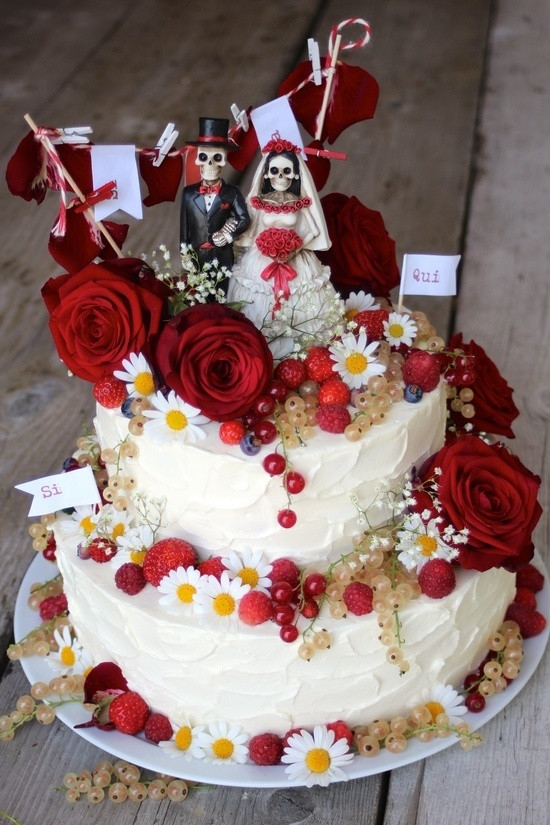 Zweistöckige Hochzeitstorte  Hochzeitstorte Rezept mit Bild von Paulas Frauchen