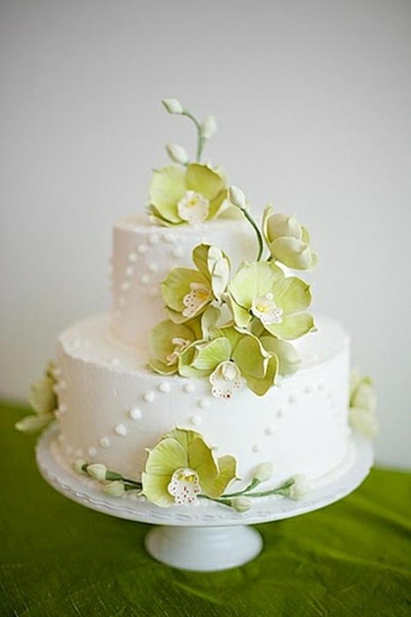 Zweistöckige Hochzeitstorte  Preiswerte zweistöckige Hochzeitstorten leckere schöne