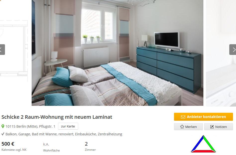 1 Raum Wohnung Berlin  wohnungsbetrug Betrüger mit ulrikemla