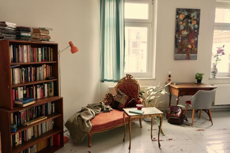 1 Raum Wohnung Berlin  Schöne 1 Raum Wohnung direkt am Boxhagener Platz 1