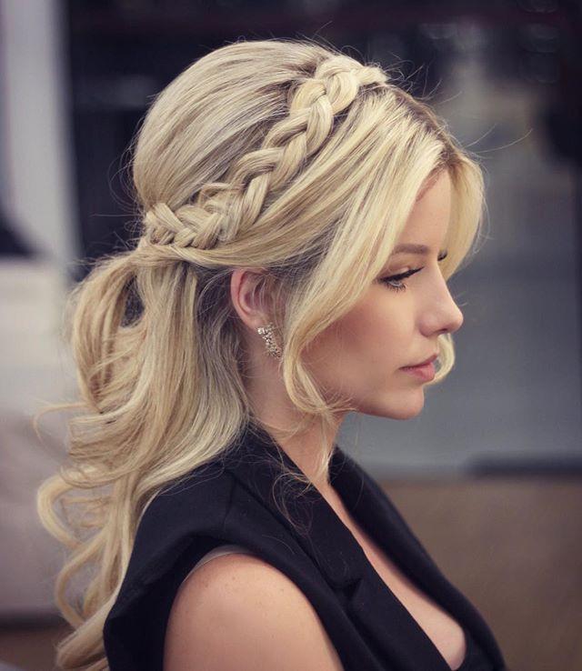 Abschlussfeier Frisuren  45 besten Frisuren Bilder auf Pinterest