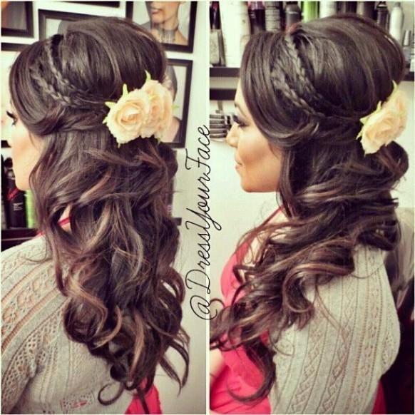Abschlussfeier Frisuren  Love this hairstyle Beauty