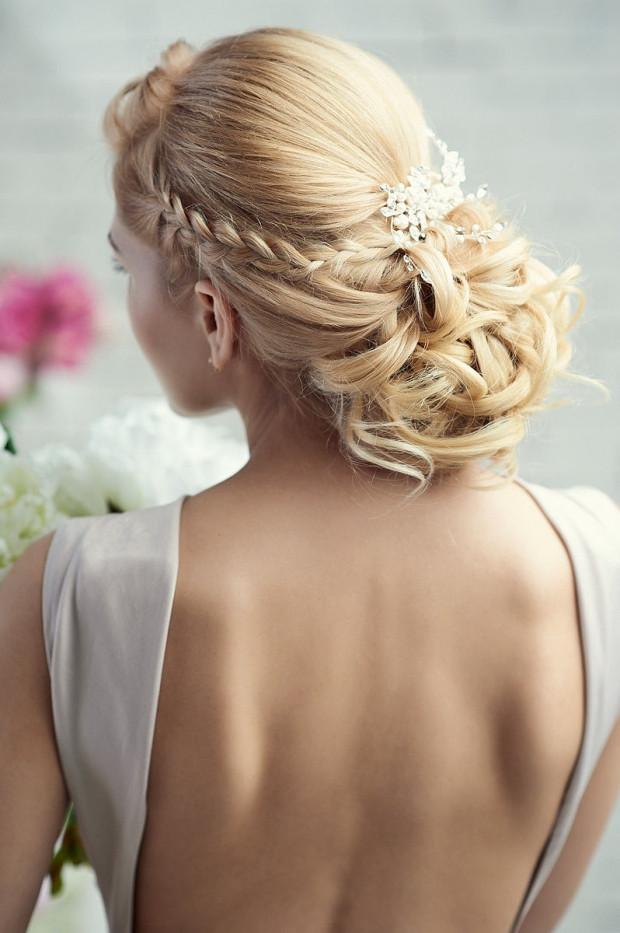 Abschlussfeier Frisuren  Flechtfrisuren zur Hochzeit 35 Ideen für verschiedene