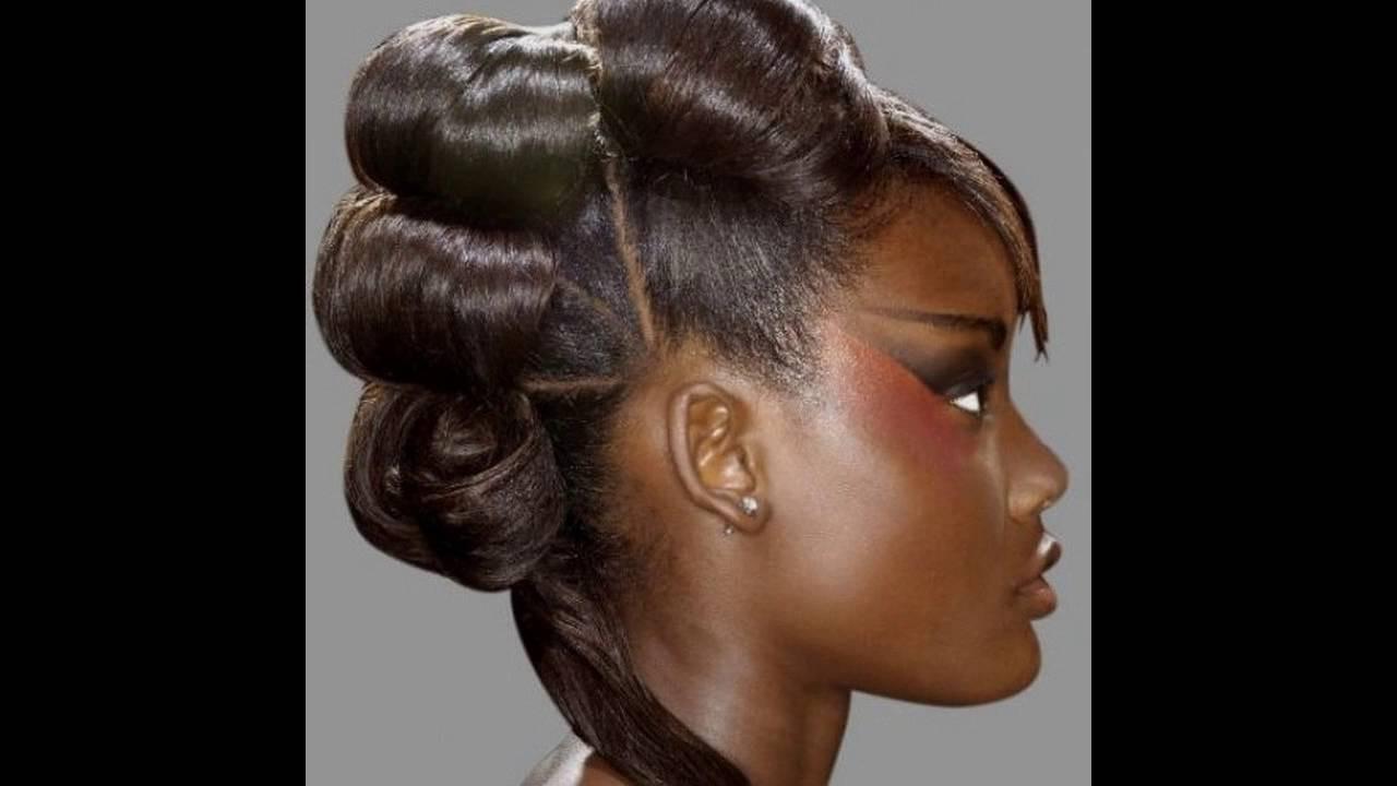 Afrikanische Frisuren  Afrikanische hochzeit frisuren