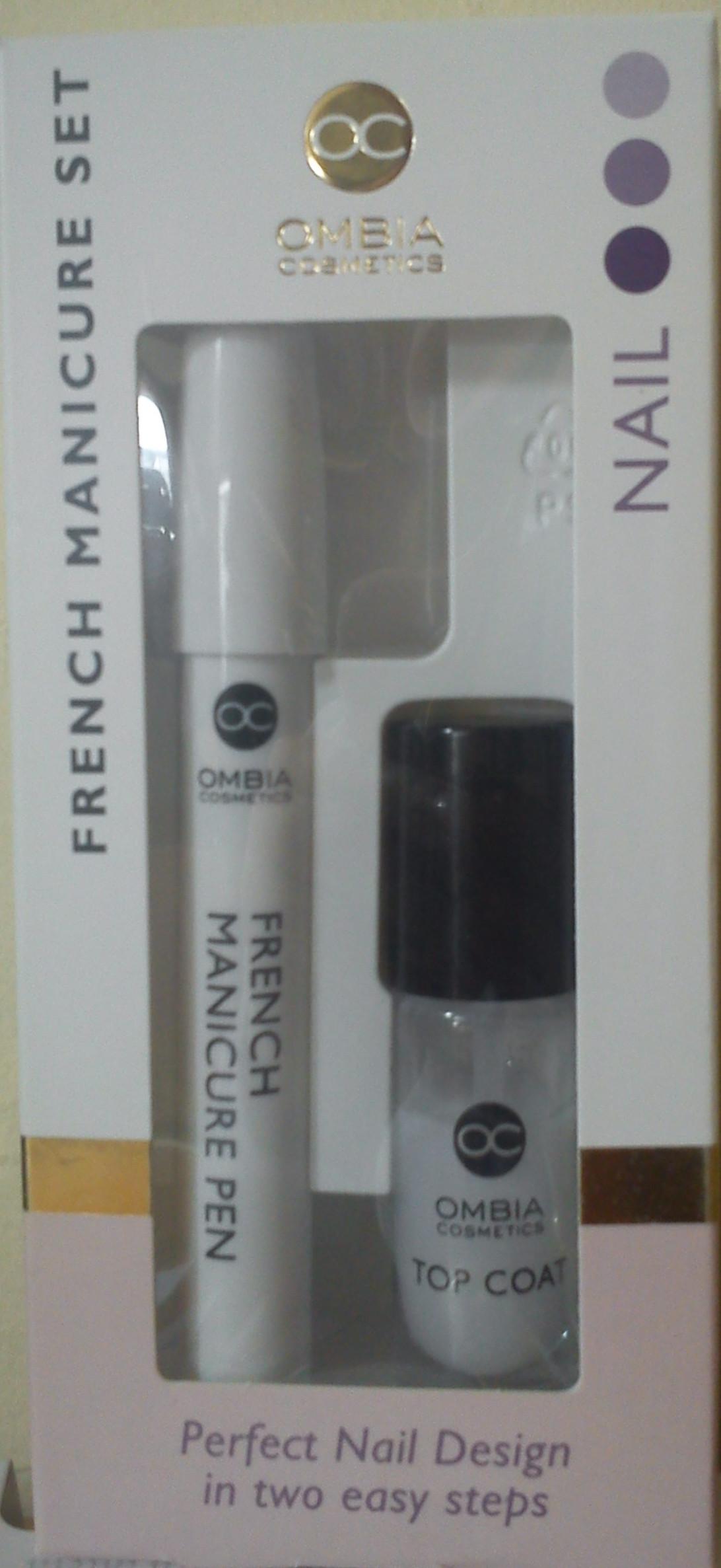 Aldi Maniküre Set  Ombia Cosmetics French Manicure Set