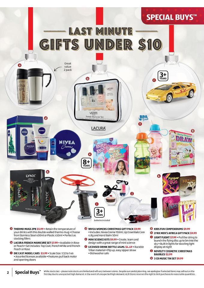 Aldi Maniküre Set  Aldi Catalogue Gifts December 2014 Page 2