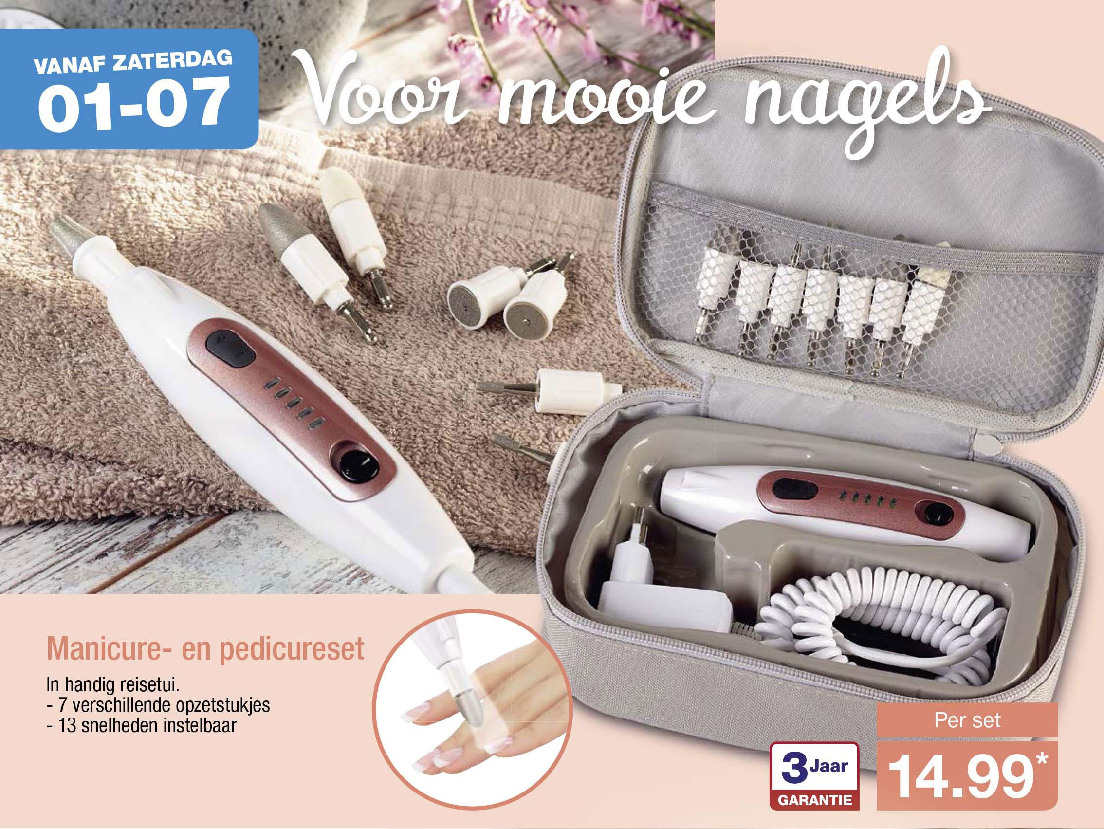 Aldi Maniküre Set  Manicure Pedicureset Aanbieding bij Lidl