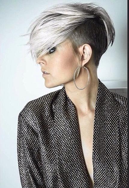 Asymmetrische Frisuren 2019  Asymmetrische Kurzhaarfrisuren Für Frauen Die Gerne