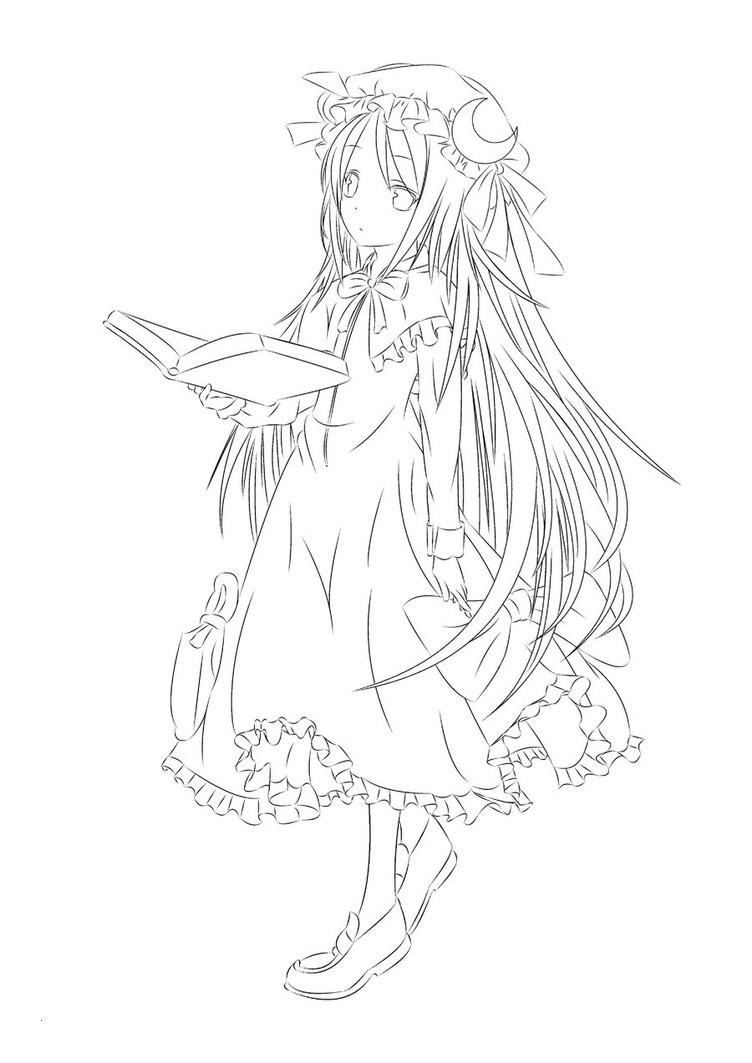 Ausmalbilder Anime Engel  Anime Engel Ausmalbilder