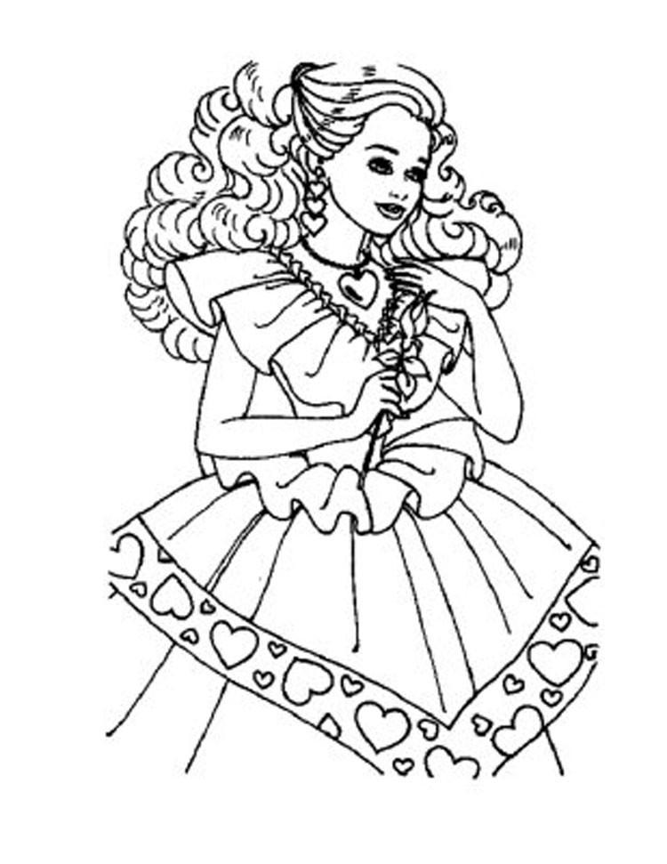 Ausmalbilder Barbie  Ausmalbilder für Kinder Malvorlagen und malbuch