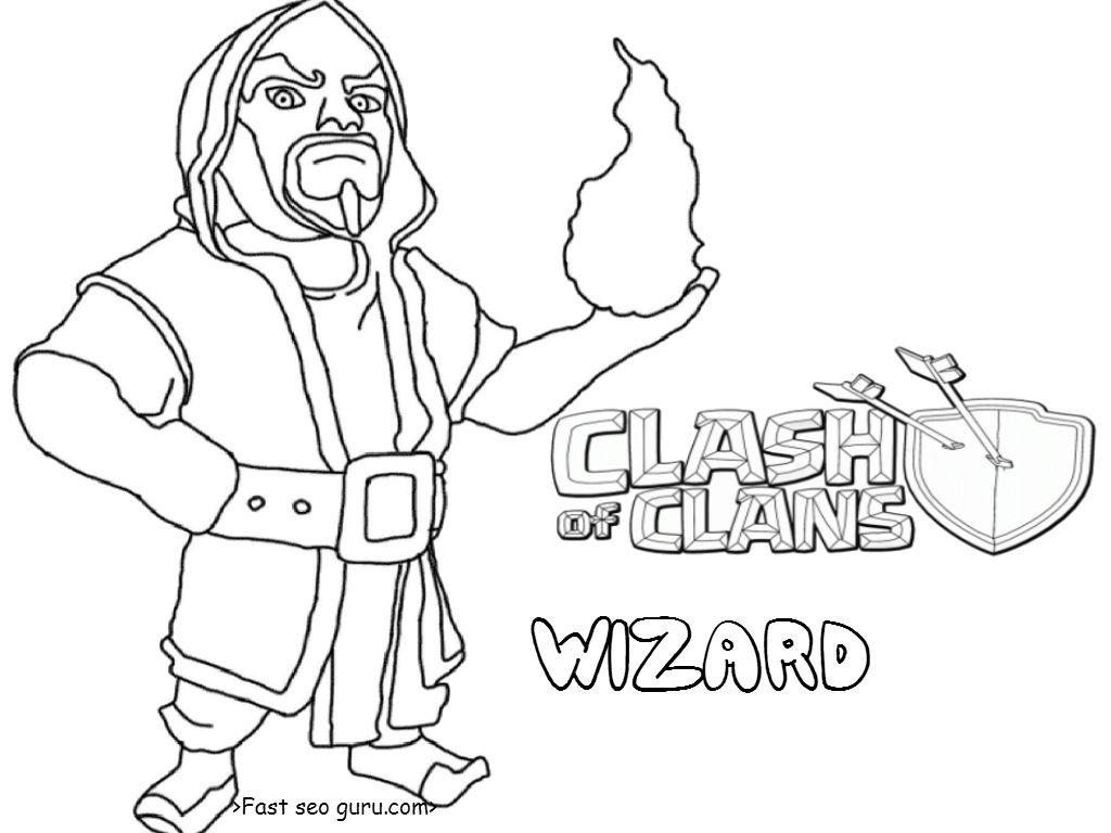 die 20 besten ideen für ausmalbilder clash of clans