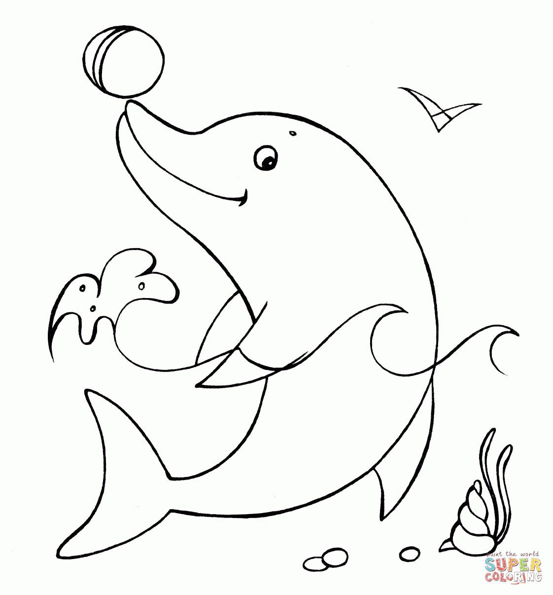 20 der besten ideen für ausmalbilder delphine  beste