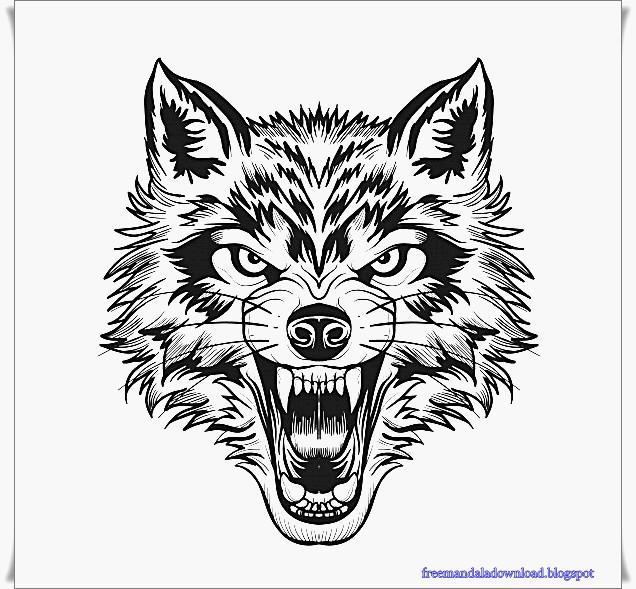 die besten ideen für ausmalbilder für erwachsene wolf