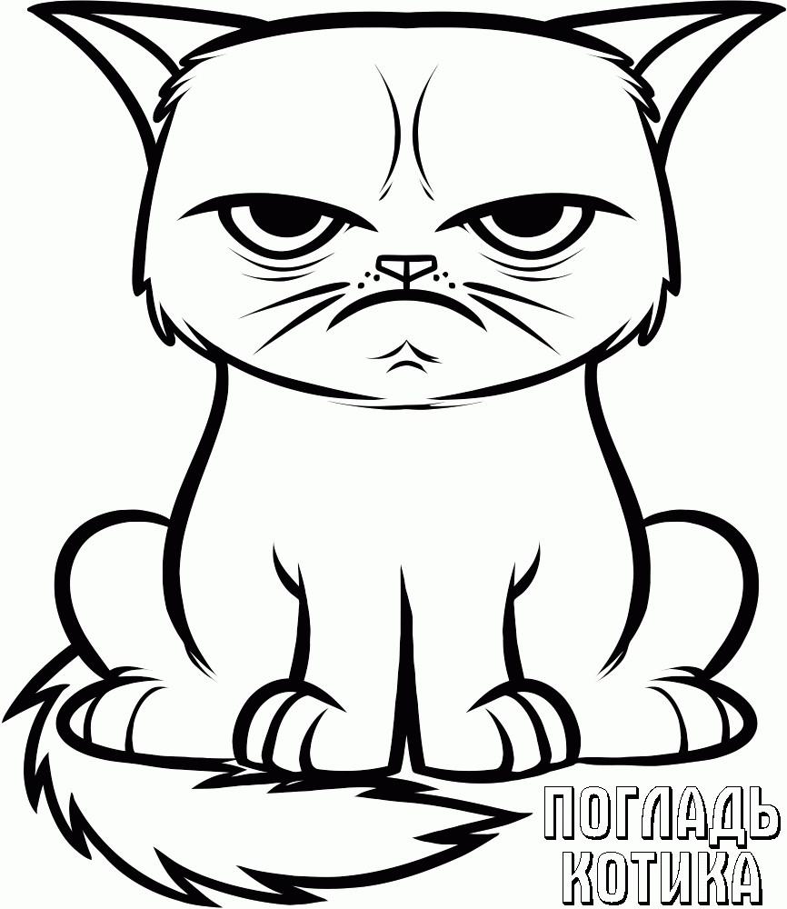 Ausmalbilder Katzen Kostenlos  Ausmalbilder Katzen Malvorlagen Kostenlos Zum Ausdrucken