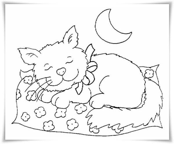 Ausmalbilder Katzen Kostenlos  Ausmalbilder zum Ausdrucken Ausmalbilder Katzen
