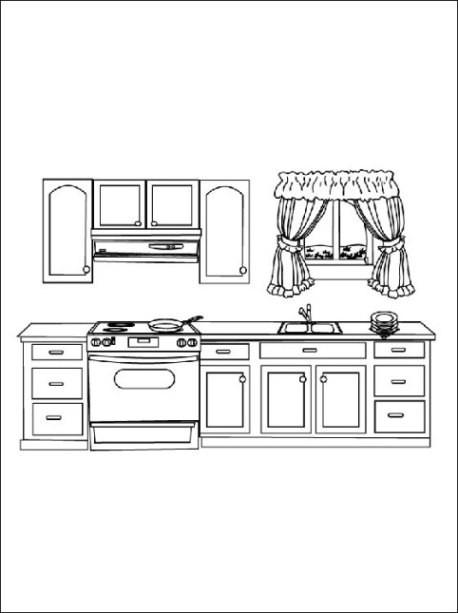 beste 20 ausmalbilder küche  beste wohnkultur