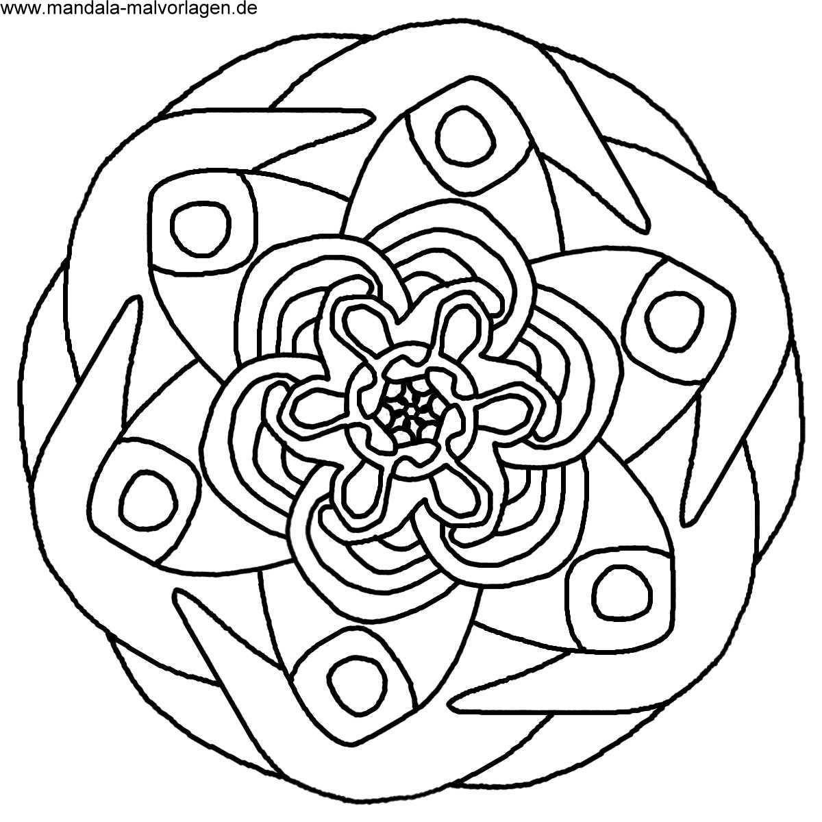 20 Der Besten Ideen Für Ausmalbilder Mandala Kinder Beste