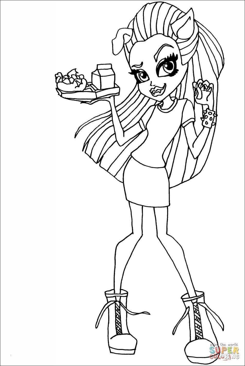 Ausmalbilder Monster High Frankie Stein  Monster High Ausmalbilder Frankie Stein